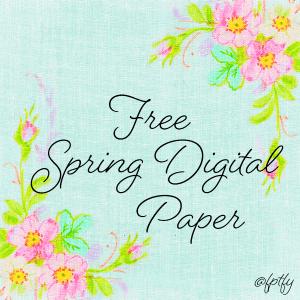 Free Spring Digital Paper