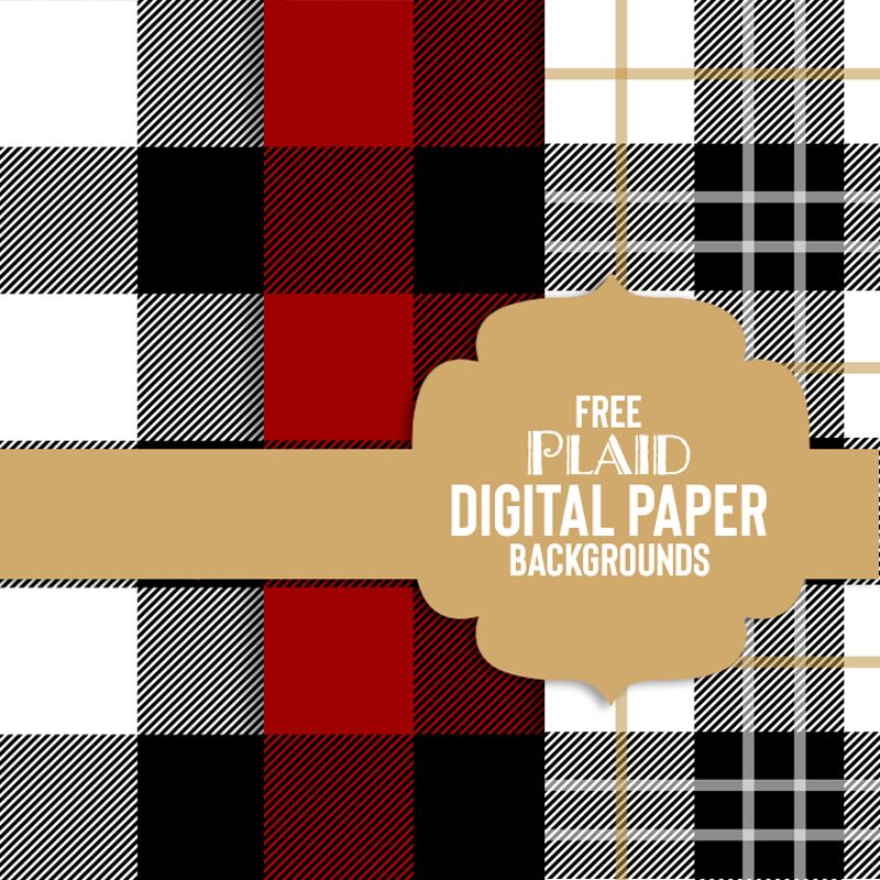 free buffalo plaid background
