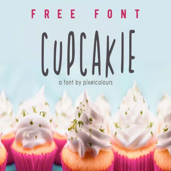 Free Cupcakie Font