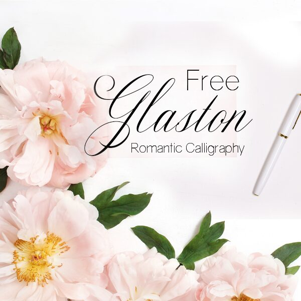 Free Calligraphy Font Glaston