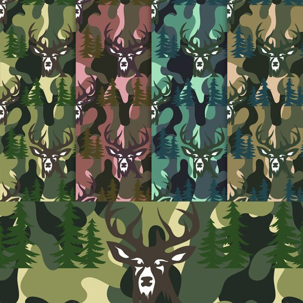 Free Camo Digital Paper Backgrounds