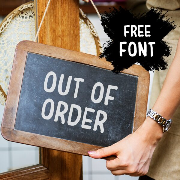 Free Font - Out of Order