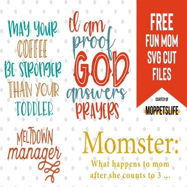 free Funny Mom svg