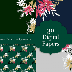 30 FREE Christmas backgrounds