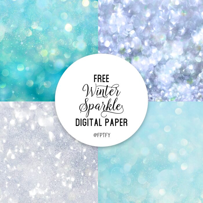 Free winter sparkle background