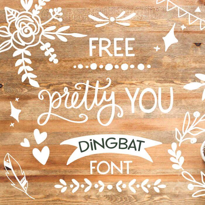 Free Pretty You Dingbat Font