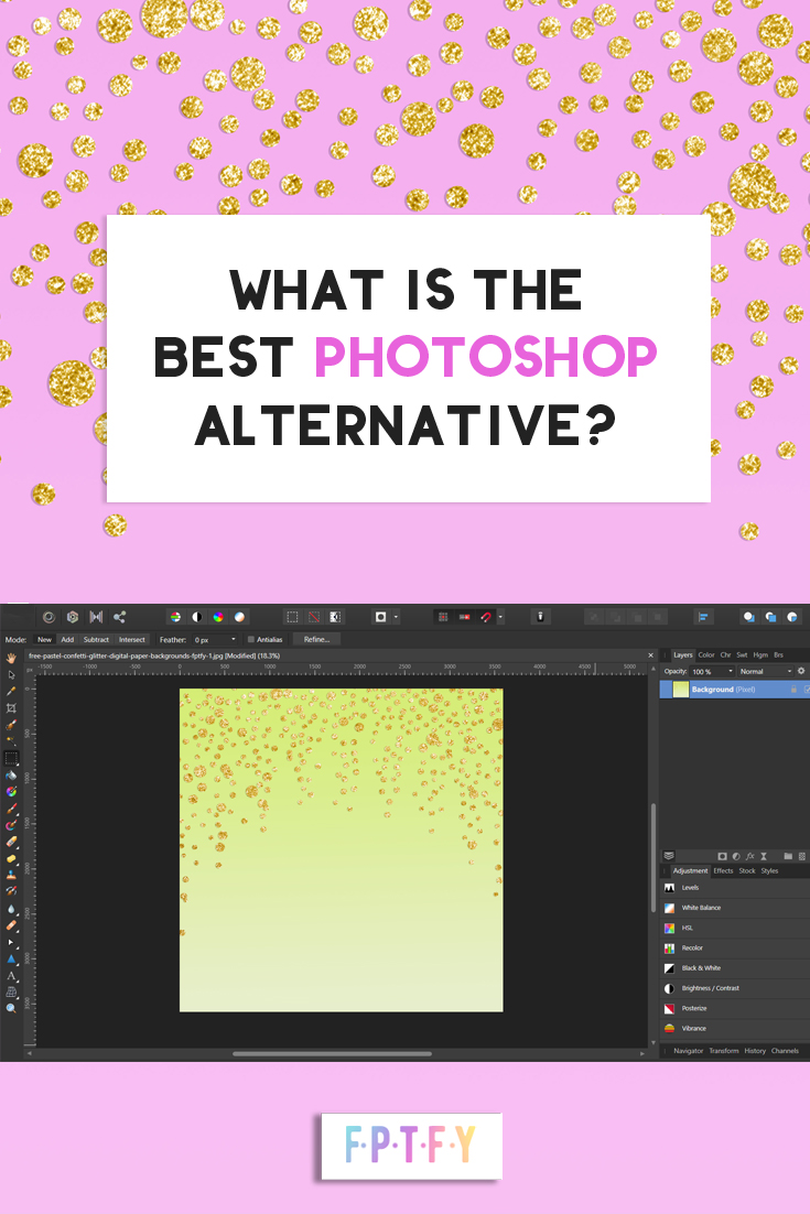 #1 Best Photoshop Alternative