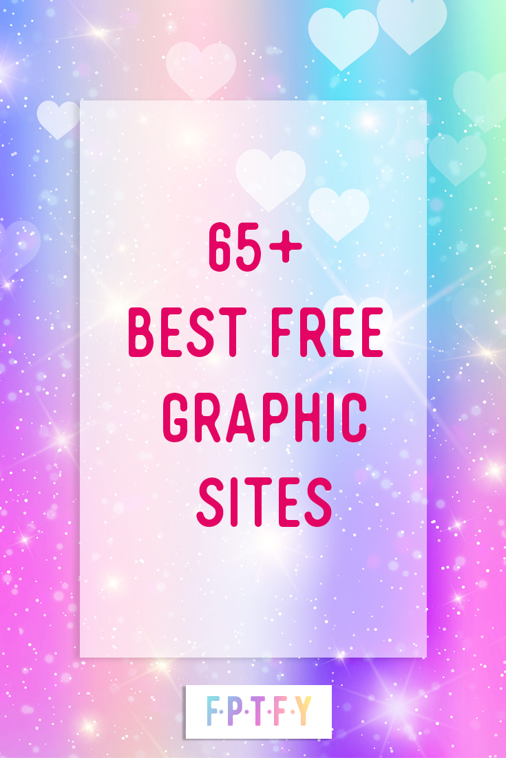 65+ Best Free Graphic Sites
