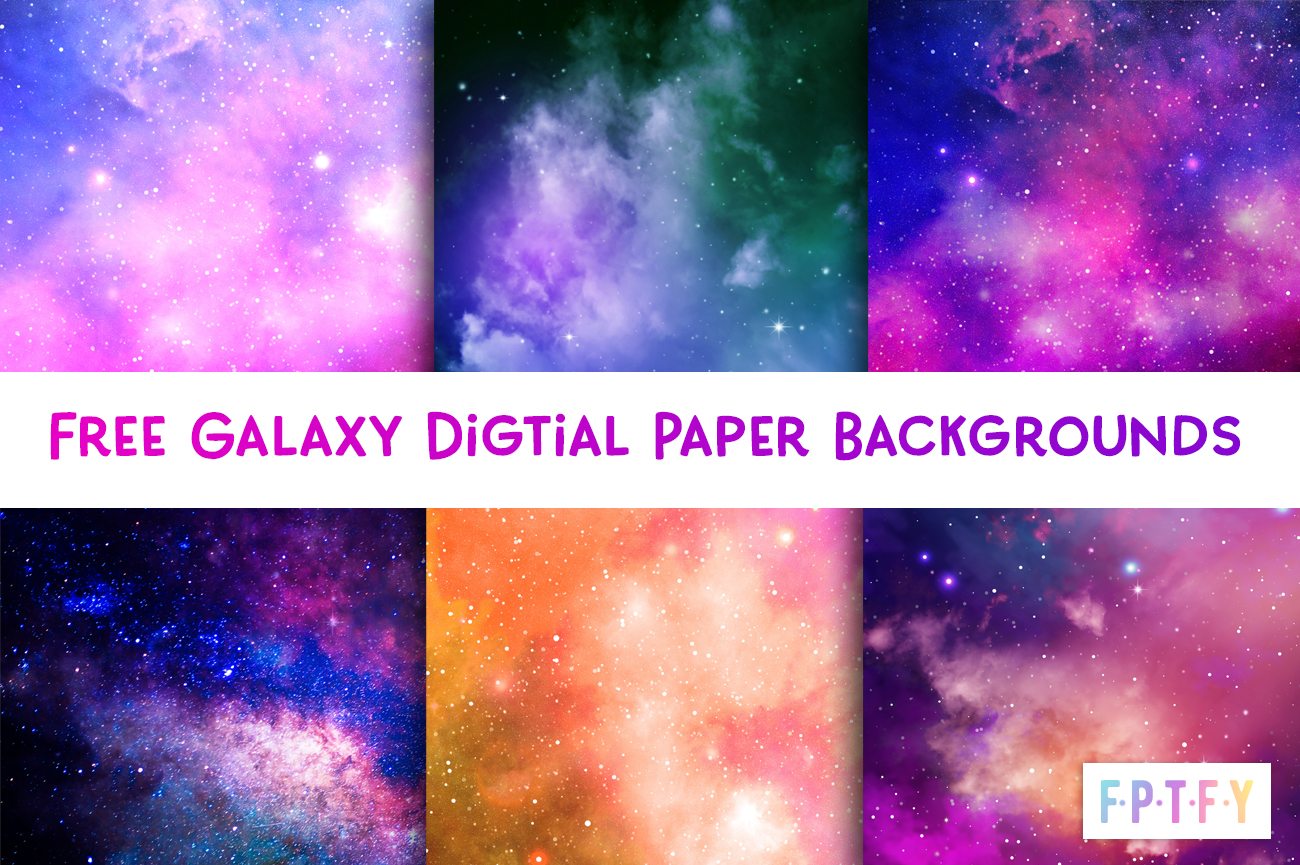 free galaxy digital papers