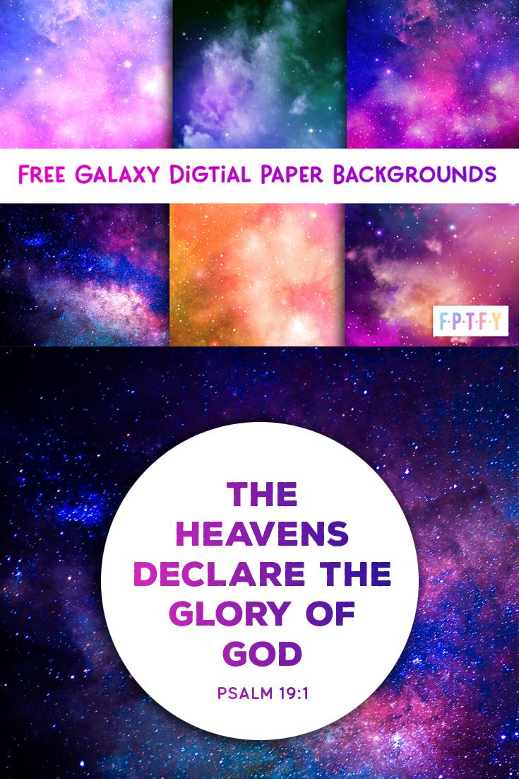 free galaxy digital papers