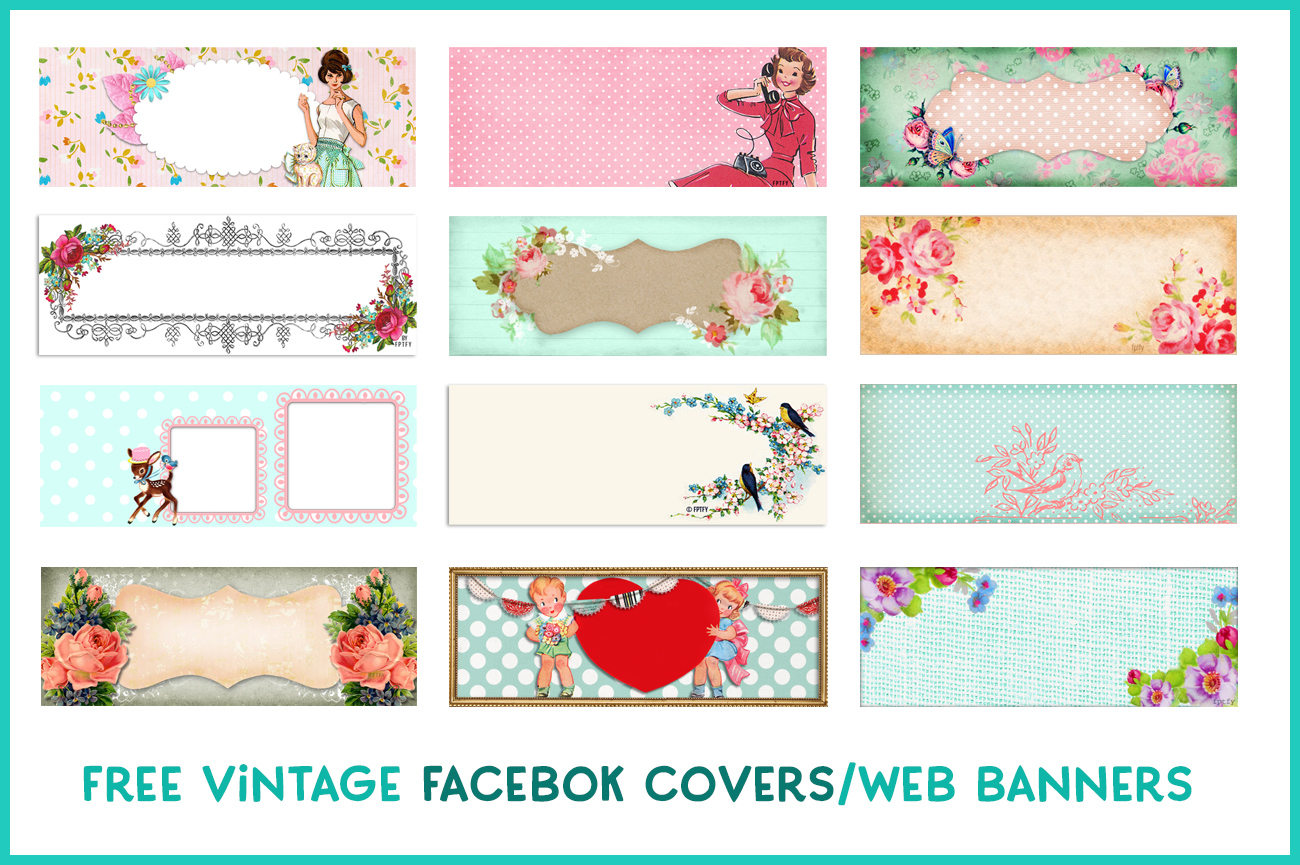 pretty vintage facebook timeline covers