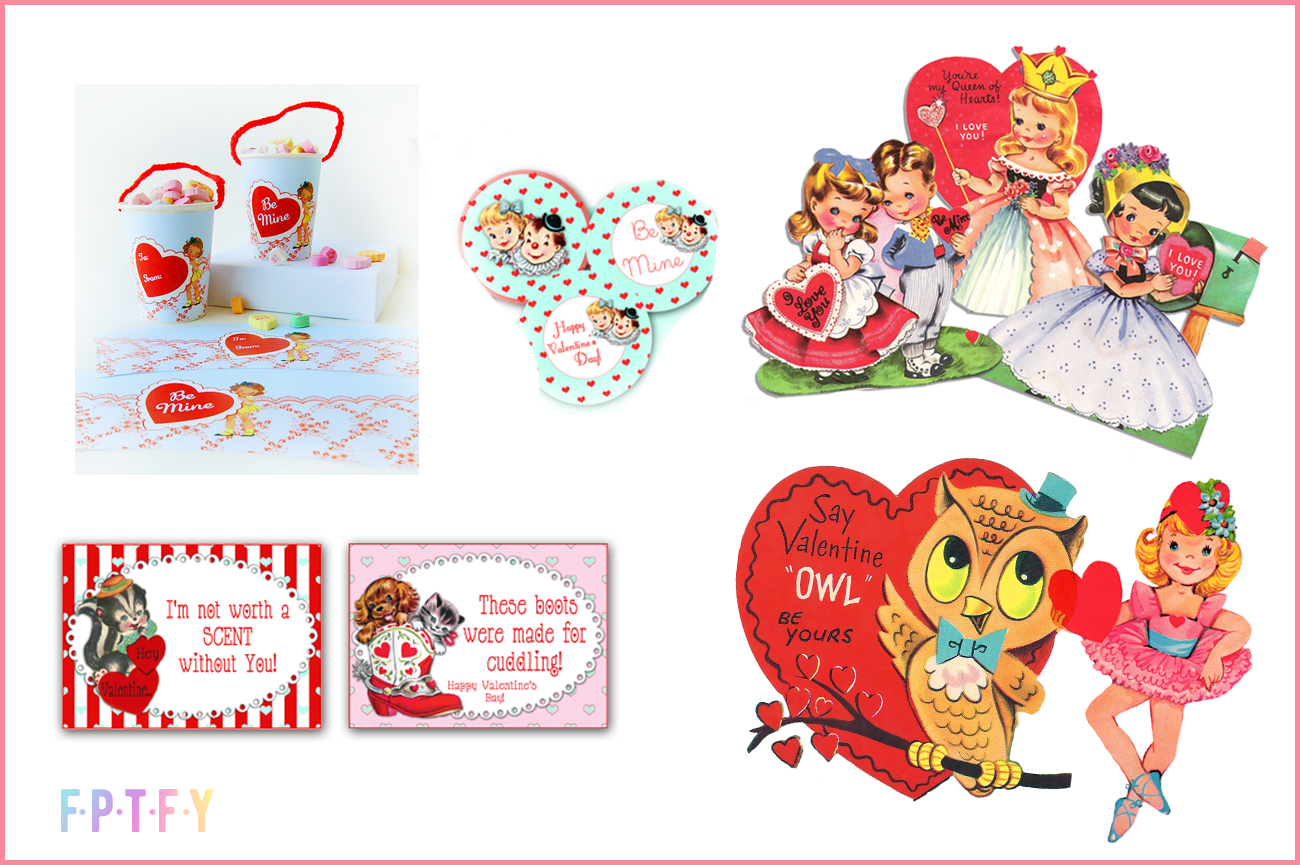20 Free Vintage Valentine Images And Printables Free Pretty Things For You