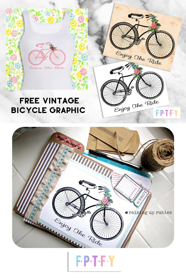FREE Vintage Bicycle Graphics