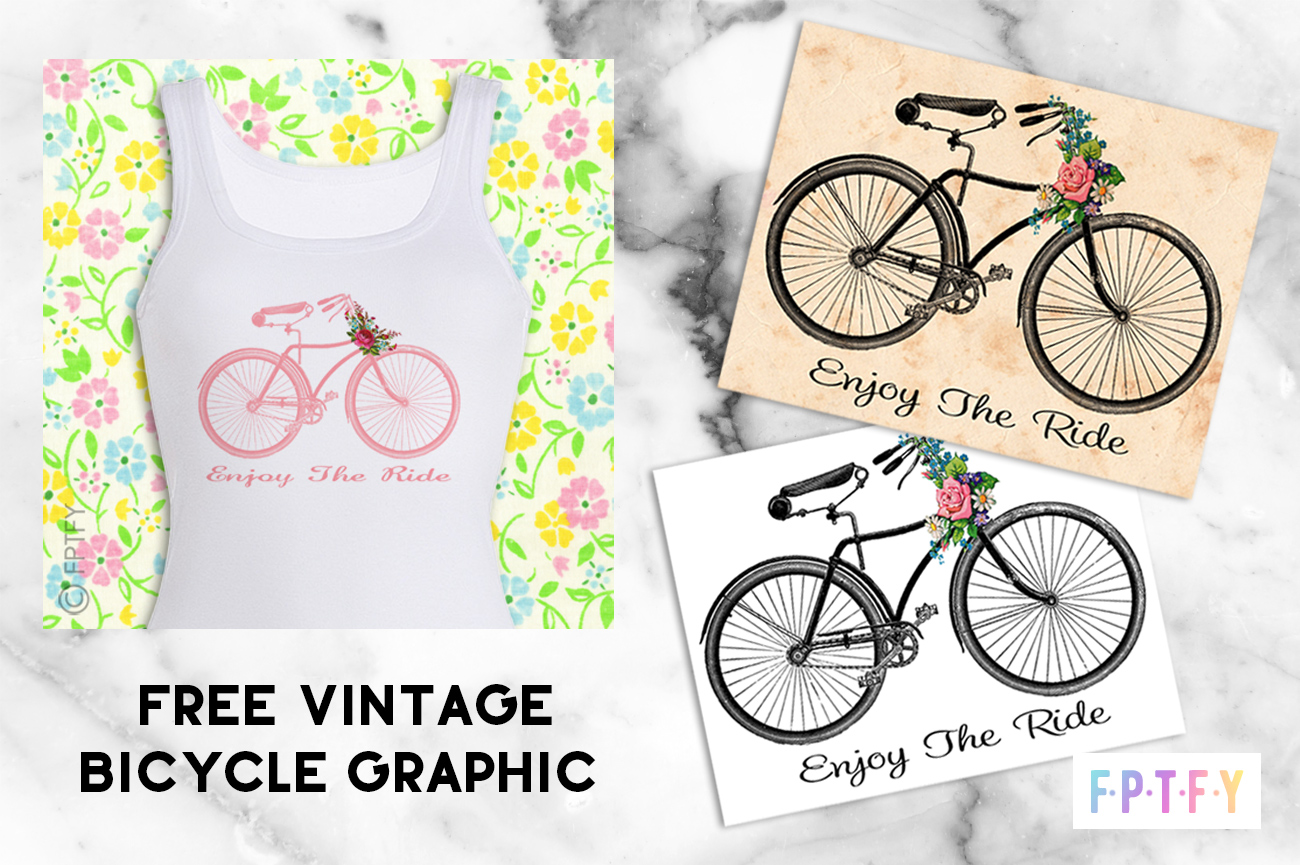 Vintage Bicycle Graphics