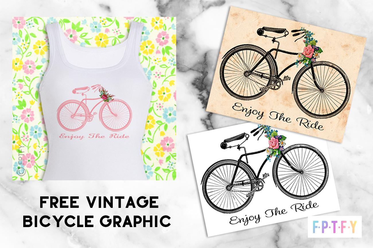 Vintage Bicycle Graphics