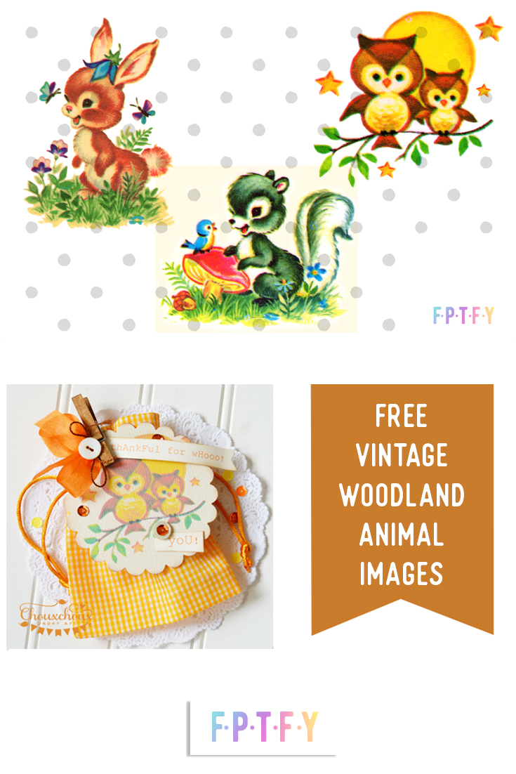 Free Vintage Woodland Animal Images