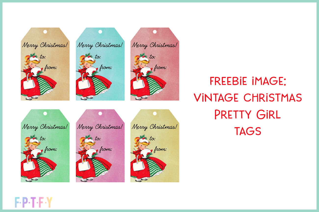 freebie image vintage christmas tags