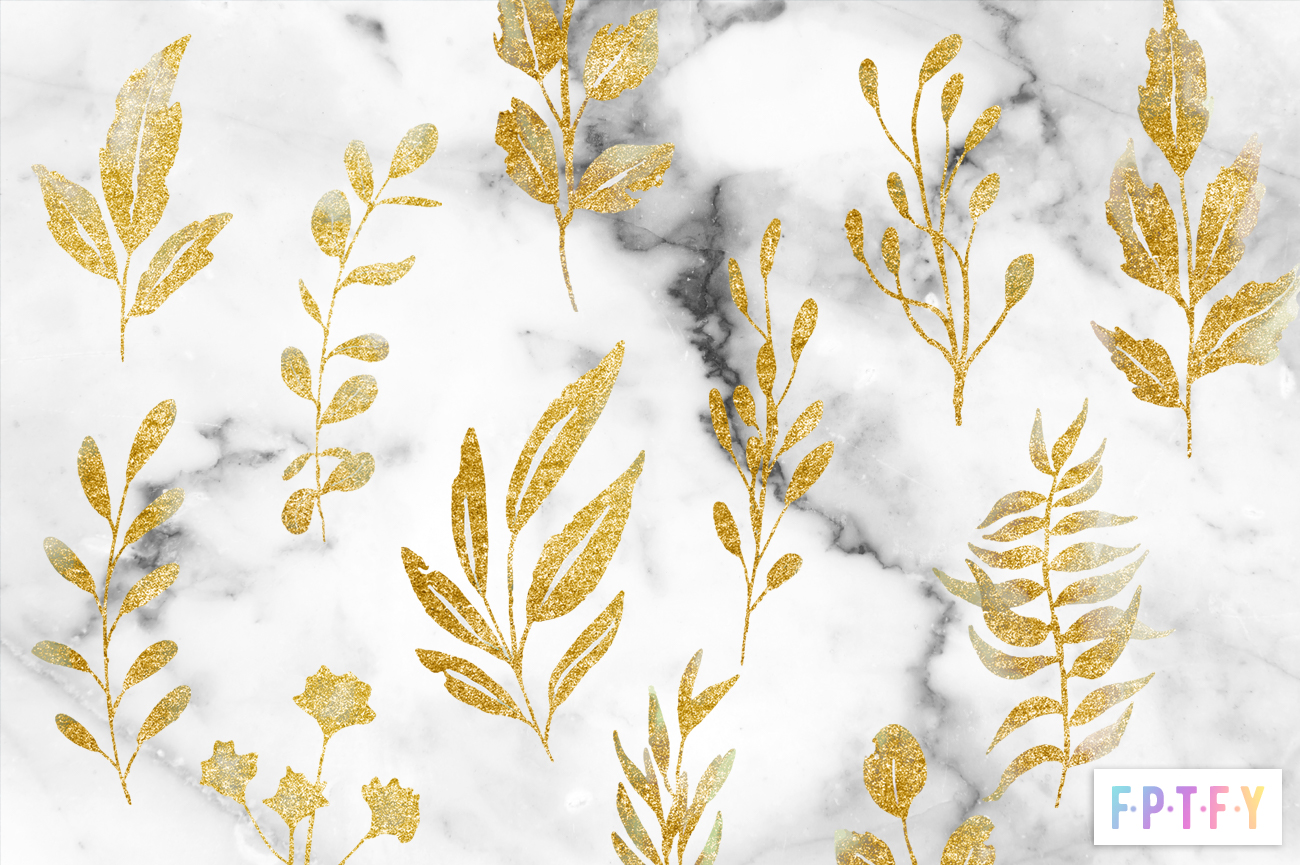 free gold leaf spray graphics