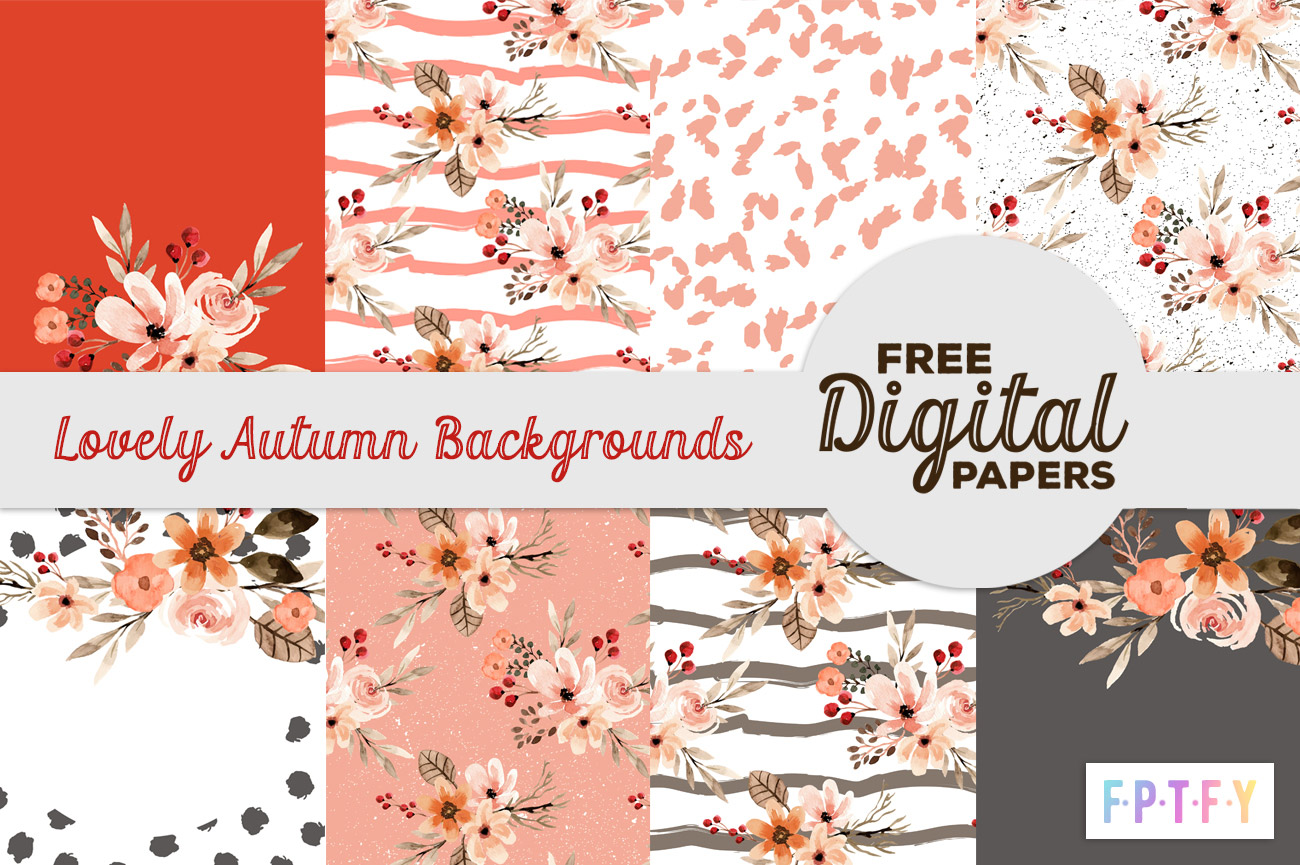 free lovely Autumn Backgrounds