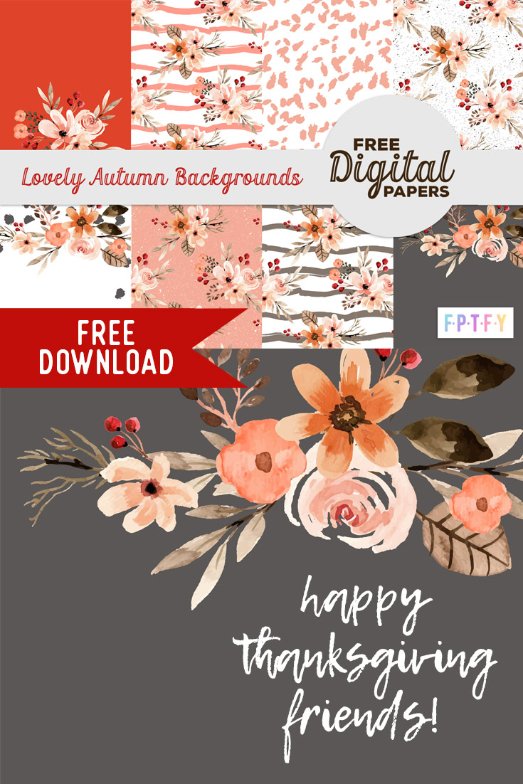Free pretty autumn backgrounds