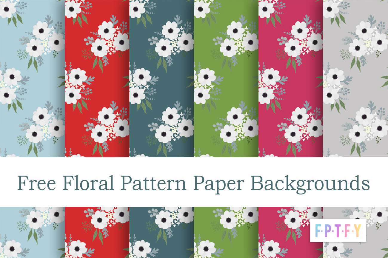 Floral Pattern Paper