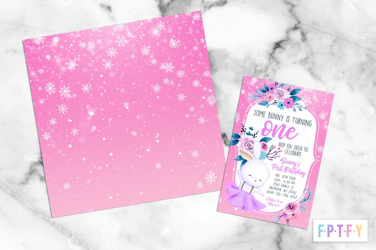 Free snowflake digital Paper