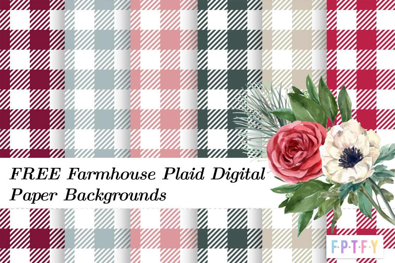 free farmhouse Digital Paper Backgrounds