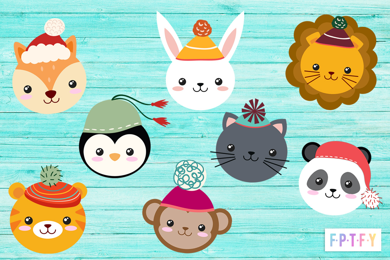 Free Cute Winter Animal ClipArt