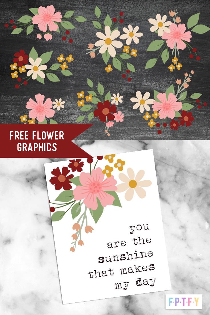 Free Sweetheart Digital Flowers